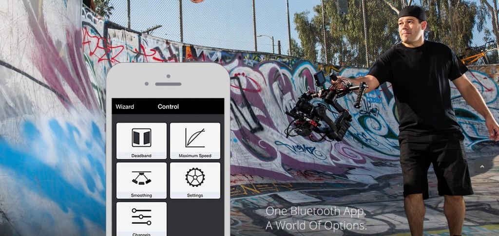 DJI Ronin M app