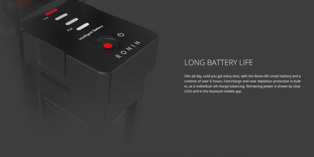 DJI Ronin M battery