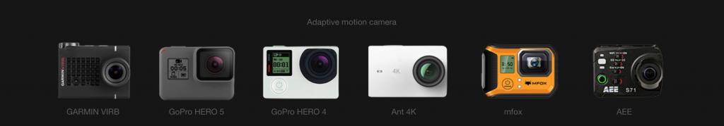 Camera Stabilizer for ActionCam