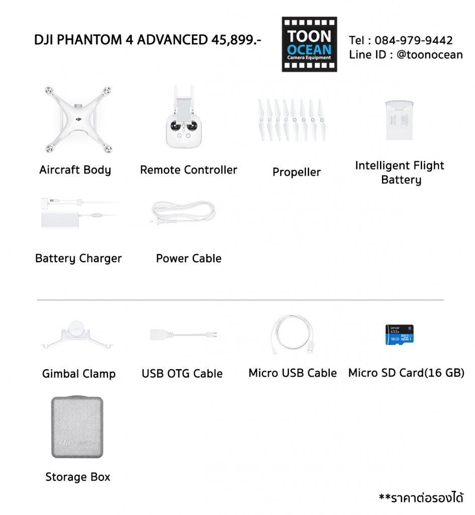 DJI Phantom 4 Advanced In the box1
