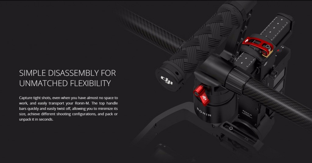 DJI Ronin M disassembly