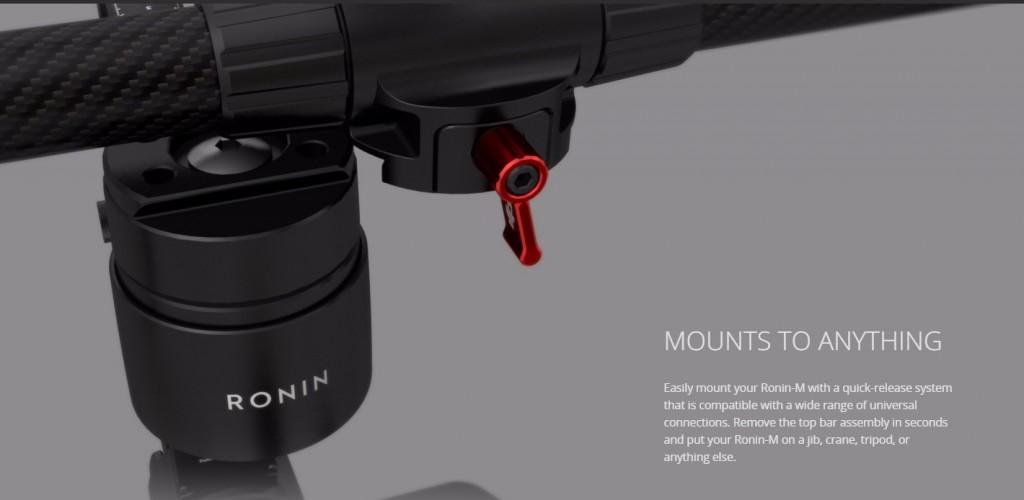 DJI Ronin M mount