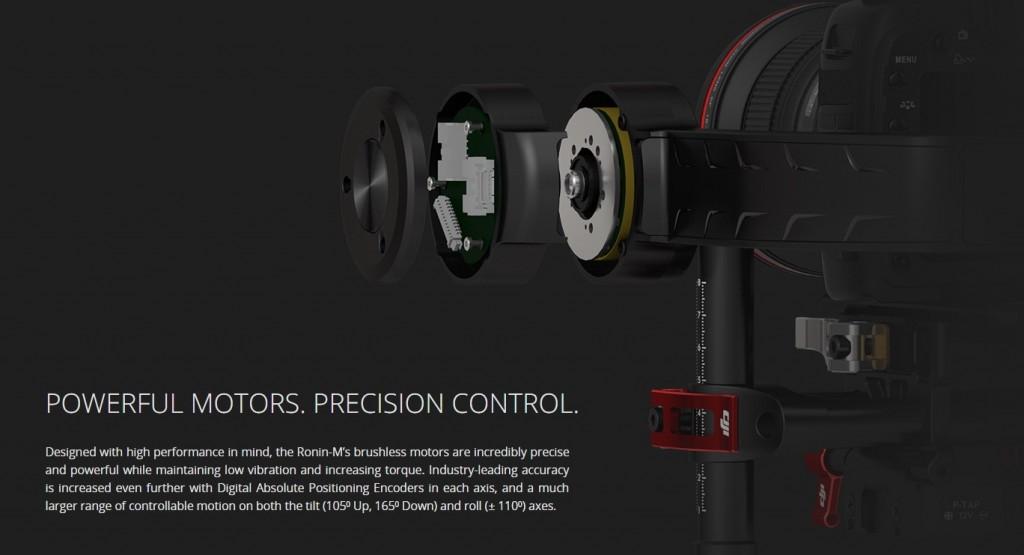 DJI Ronin M precision control