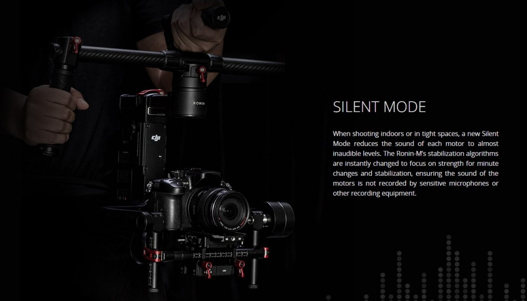 DJI Ronin M silent mode