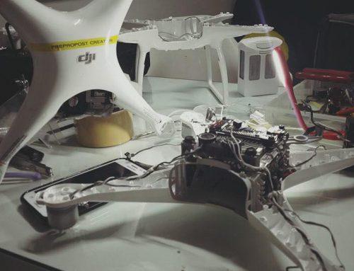 DJI Phantom ซ่อม
