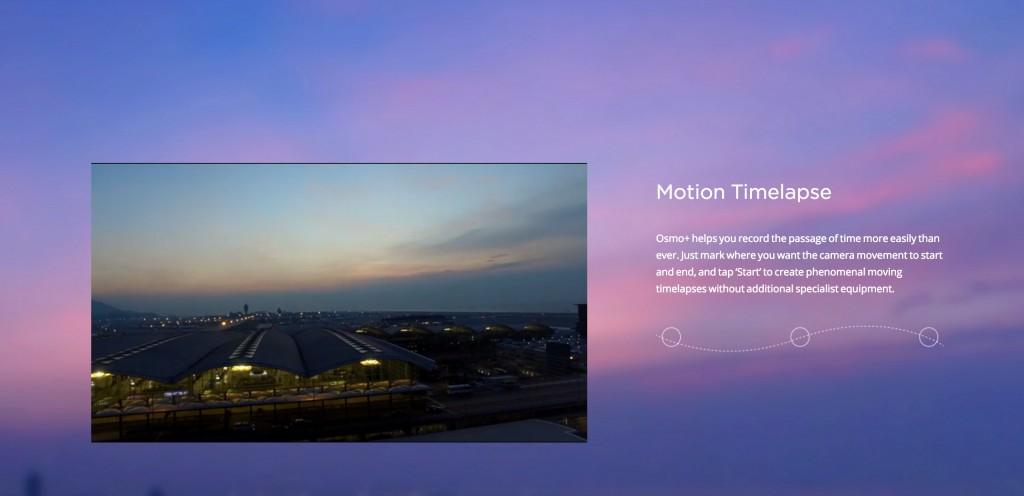 DJI OSMO time lapse