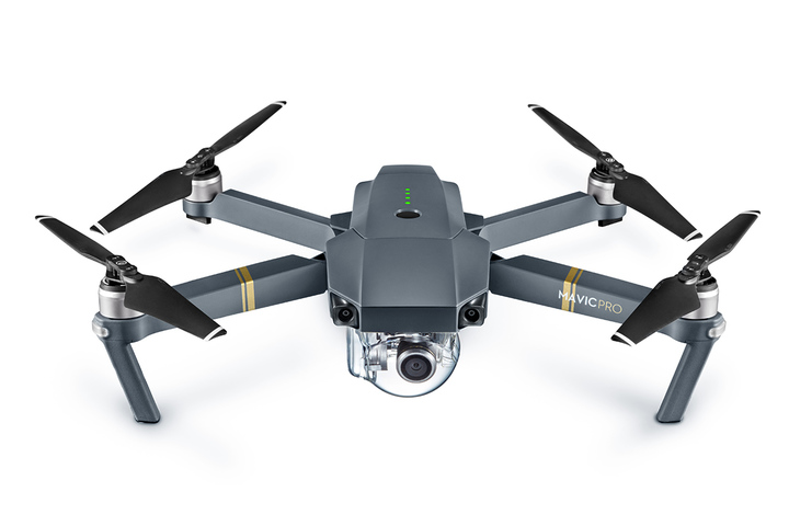 dji mavic top view