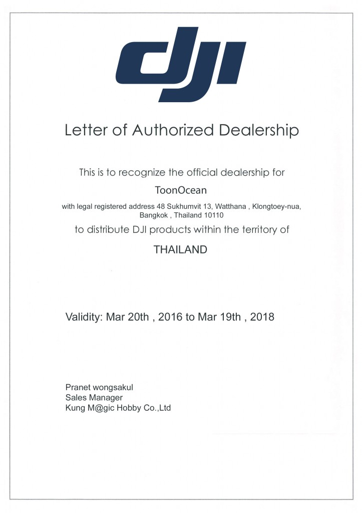 dji authorized dealer thailand