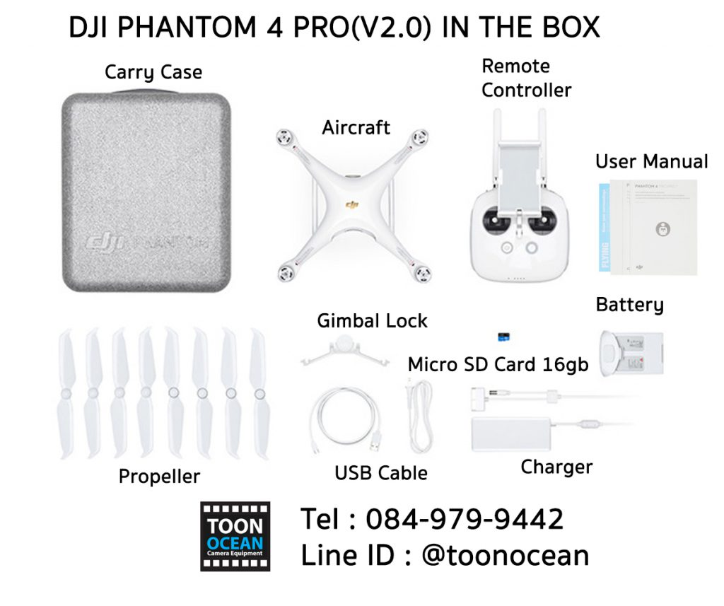 dji phantom 4 pro v2 in the box