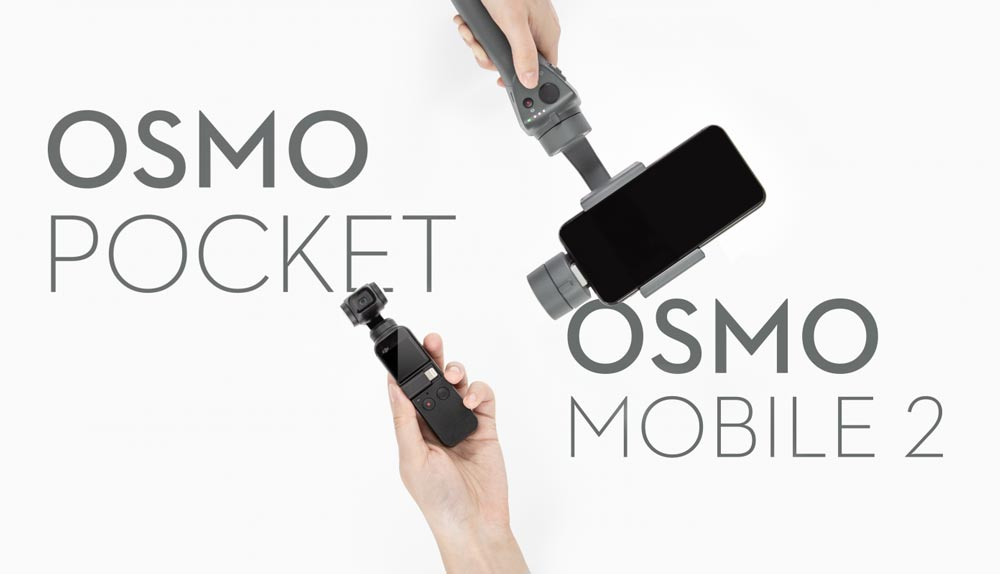 dji osmo pocket vs dji osmo mobile 2