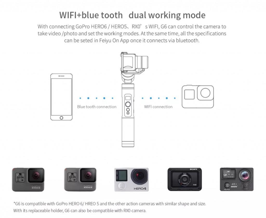 02 feiyu g6 compatable camera