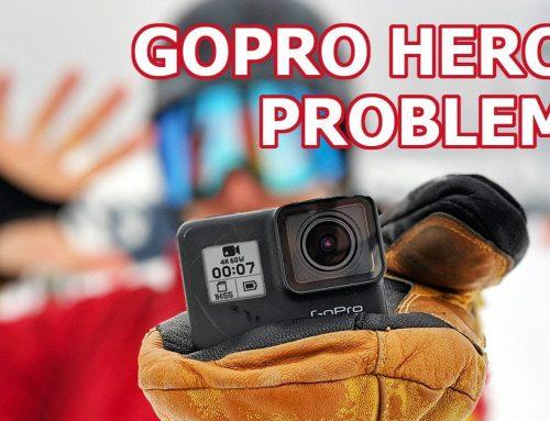 ปัญหาที่พบบ่อย กล้อง Gopro Hero 7 Black