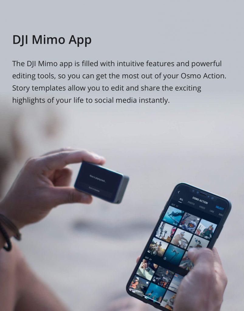 DJI Mimo App