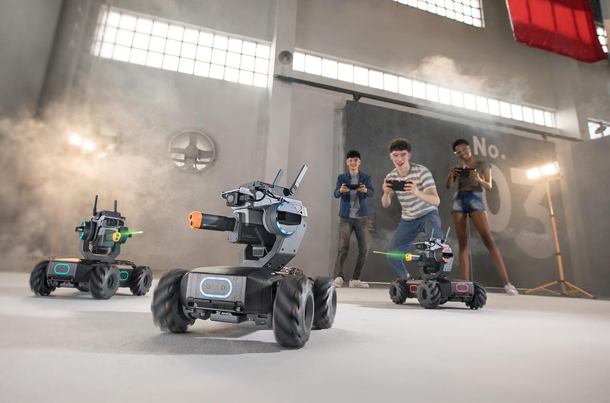 แกะกล่องดูไฮไลท์ DJI RoboMaster S1